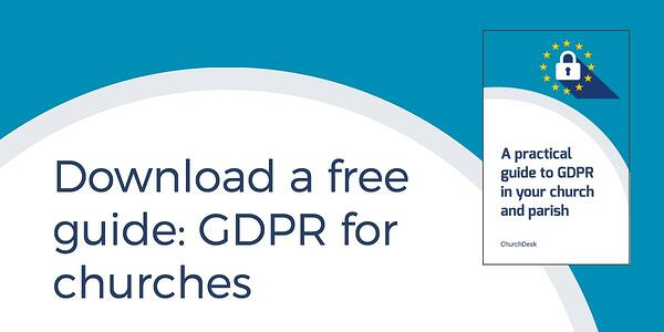 GDPR guide for churches and parishes