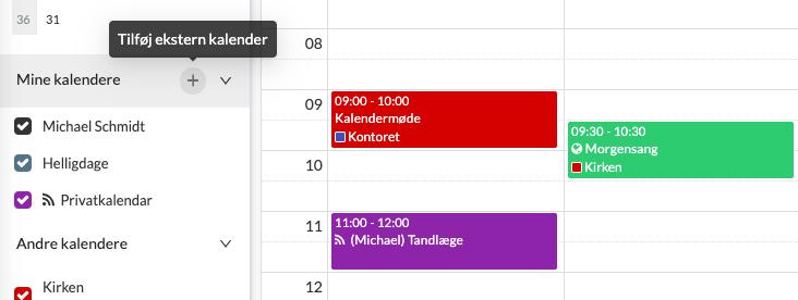 Calendar-DK-feed