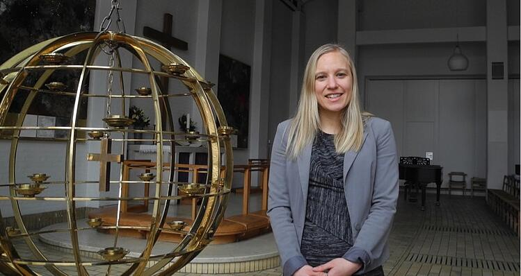 Christina Iversen, kirkekoordinator i Adventskirken