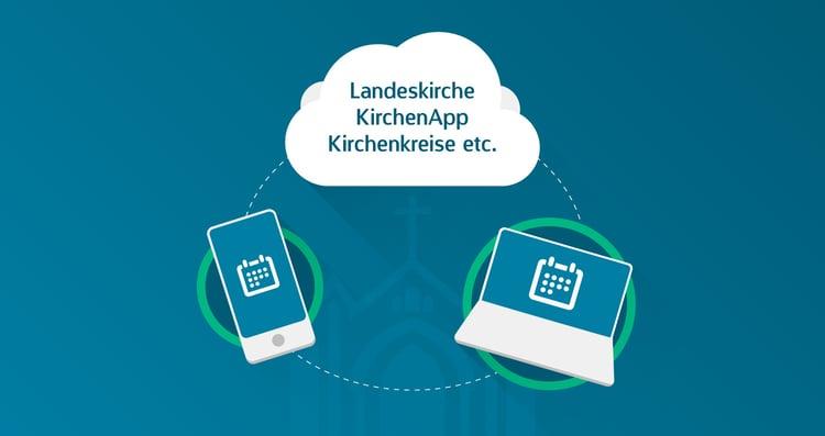 Die ChurchDesk-Partnership-API macht es möglich, Inhalte von ChurchDesk automatisch an Portale von Drittanbietern weiterzuleiten.