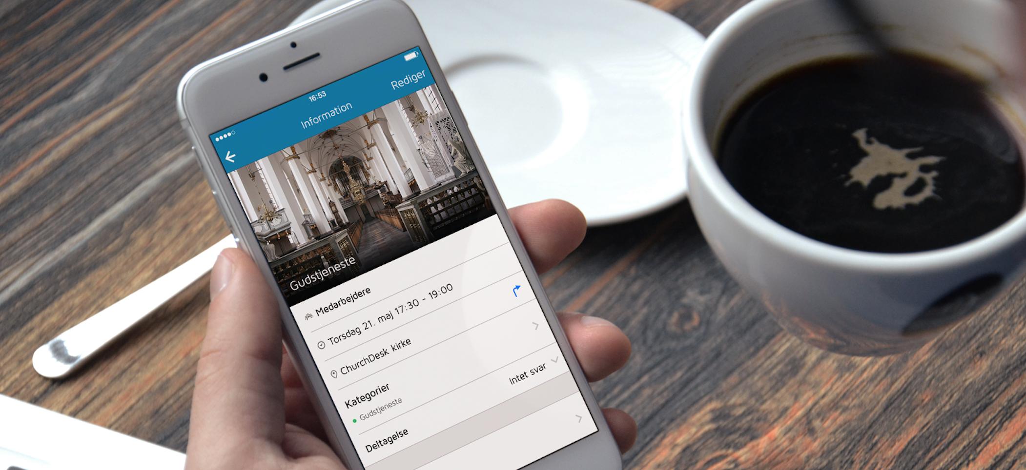 ChurchDesk app