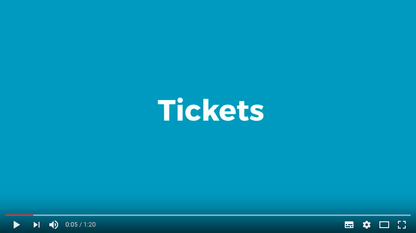 Starting today you can create tickets for your events with ChurchDesk