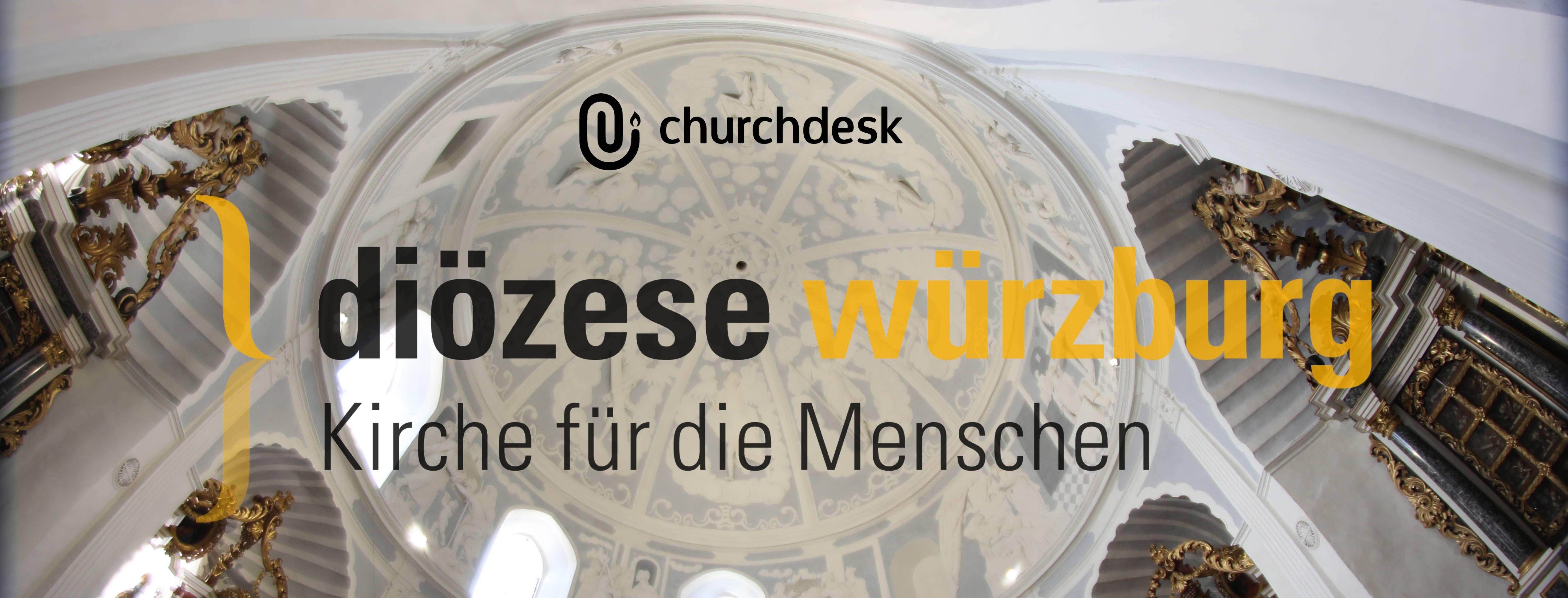 Bistum Würzburg und ChurchDesk