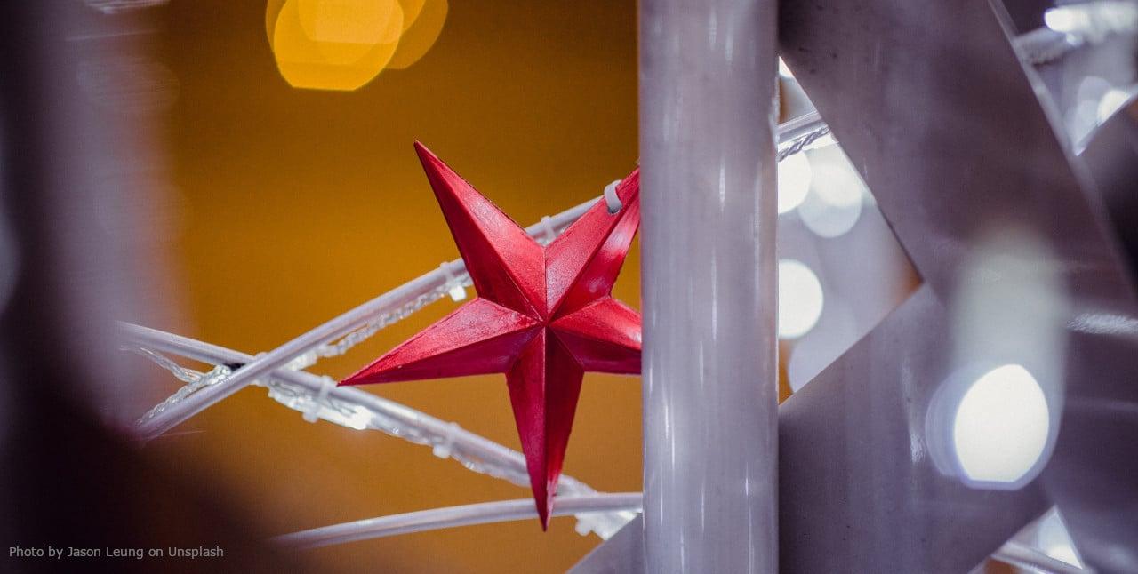 Jason Leung - Christmas Star - Unsplash