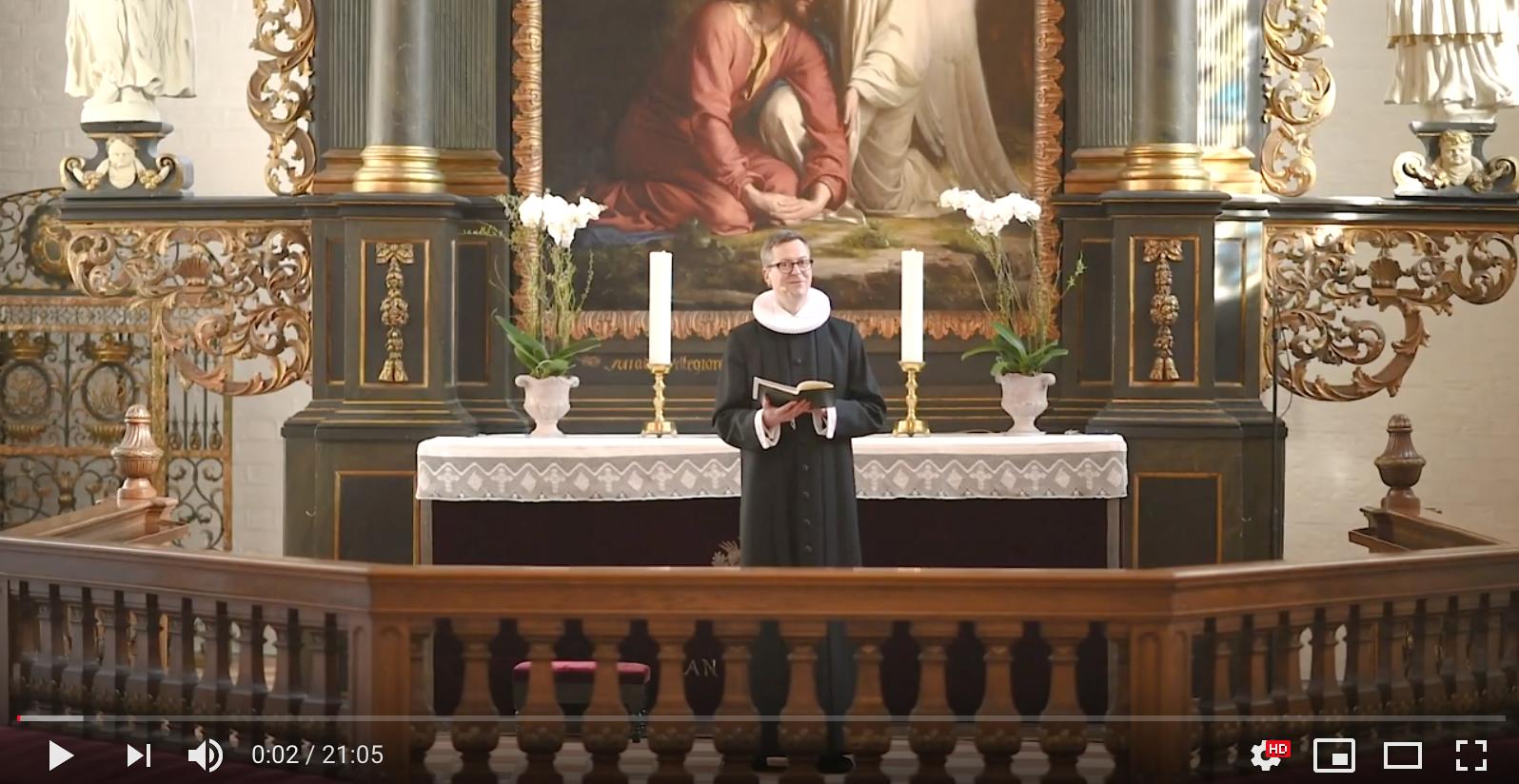 Live streaming i Sct. Hans Kirke