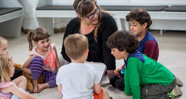 Billede fra Børnetjenesten