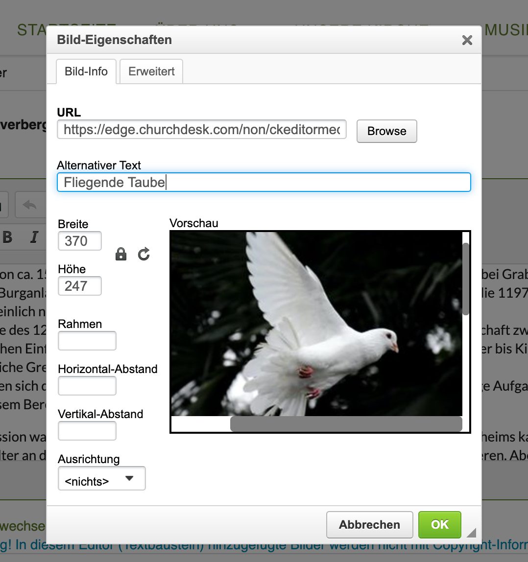 Add alt text to your images